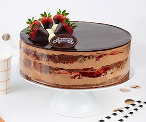 Double Chocolate Strawberry Torte thumbnail