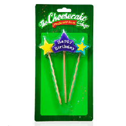 Birthday star pick candle thumbnail