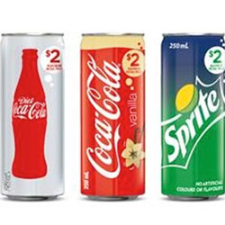 Coca Cola Products - 250ml thumbnail