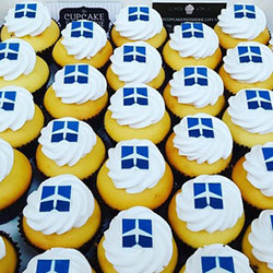 Assorted branded cupcakes thumbnail