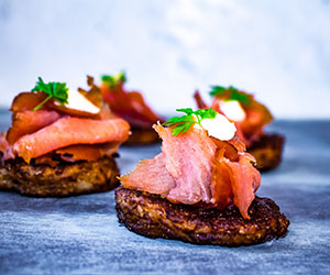 Smoked salmon hash thumbnail