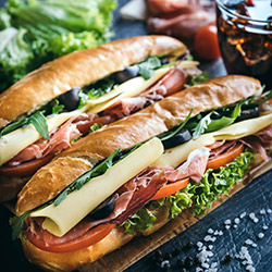 Gourmet baguettes thumbnail