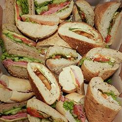 Mixed sandwich platter - serves 6 thumbnail