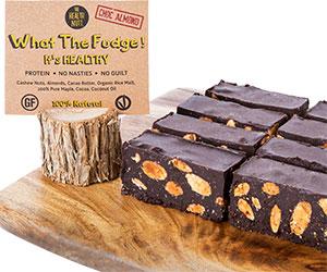 What the fudge - choc almond thumbnail