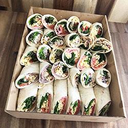 Gourmet wraps platter thumbnail