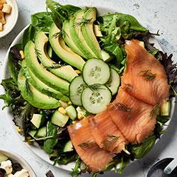 Salmon avocado salad thumbnail