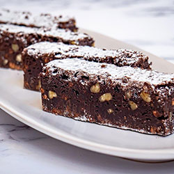 Chocolate and pecan brownie thumbnail