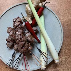Satay beef skewers thumbnail