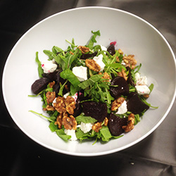 Beetroot and goats cheese salad thumbnail