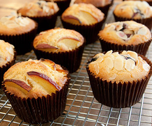 Assorted fresh fruit muffins thumbnail
