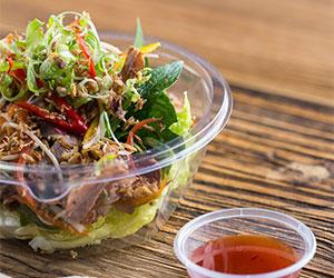 Shredded chilli pork salad thumbnail