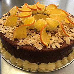 Orange flourless cake thumbnail