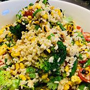 Charred sweet corn salad thumbnail