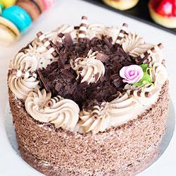 Chocolate butter cream gateau thumbnail