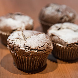 Gluten free chocolate muffin thumbnail