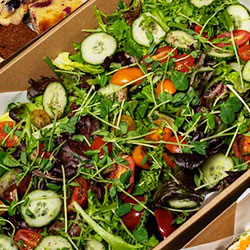 Bacon, tomato and feta salad thumbnail
