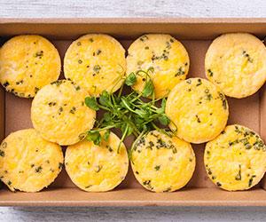Sweet potato and haloumi frittata thumbnail