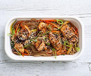 Teriyaki noodle bowl thumbnail