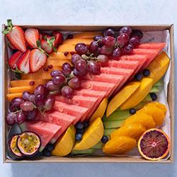 Freshly cut seasonal fruit thumbnail