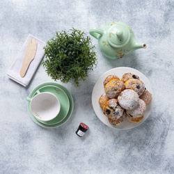 Biggest morning tea blueberry and white chocolate scones thumbnail