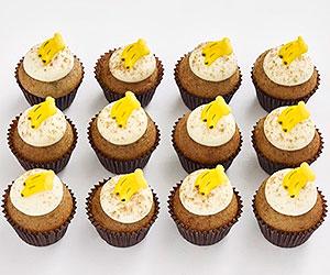 Petite cupcakes - banana thumbnail