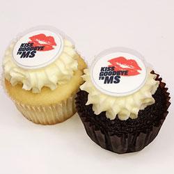 Kiss MS Goodbye cupcakes thumbnail