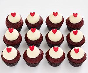 Petite cupcakes - red velvet thumbnail