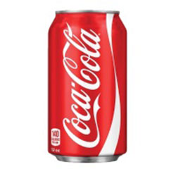 Coca-Cola soft-drink - cans - 375ml thumbnail