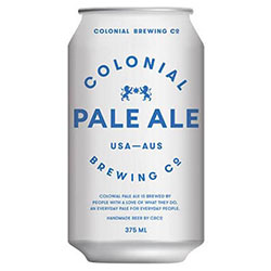 Colonial pale ale cans - 375ml thumbnail