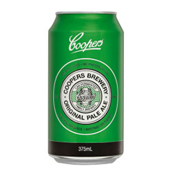 Coopers Pale Ale cans - 375ml thumbnail