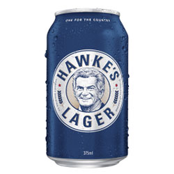Hawkes brewing lager cans - 375ml thumbnail