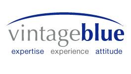 Vintage Blue Sydney logo