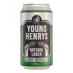 Young Henrys natural lager cans - 375ml thumbnail