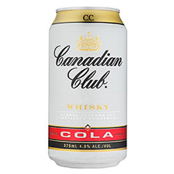 Canadian Club and Cola Can - 375ml thumbnail