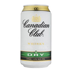 Canadian Club and Dry Can - 375ml thumbnail