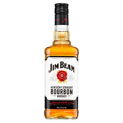 Jim Beam White Label Bourbon - 700ml thumbnail