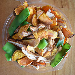 Chicken paprika salad thumbnail