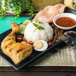 Nasi lemak - lunch box thumbnail