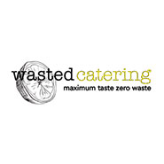 Wasted Catering logo