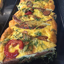 Homemade gourmet quiches - serves 6 to 8 thumbnail