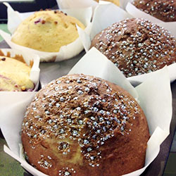 Selection of muffins and cakes thumbnail
