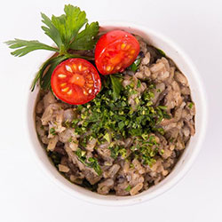 Wild mushroom risotto hot pot - 350 ml thumbnail