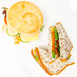 Gluten free sandwich and roll package thumbnail
