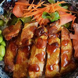 Teriyaki BBQ chicken thumbnail