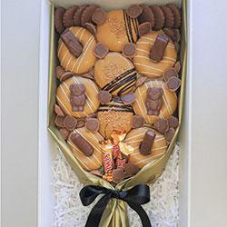 Caramel donut bouquet thumbnail