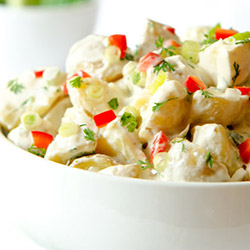 Kipfler potato salad thumbnail