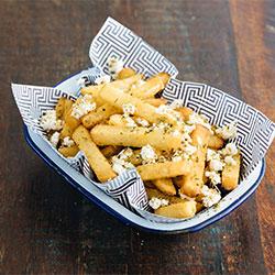 Feta and oregano chips thumbnail