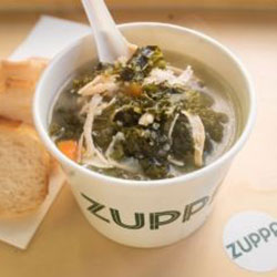 Chicken and kale soup thumbnail