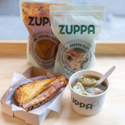 Soup and sandwich lunch thumbnail