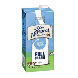 Long life milk - So Natural - 1L thumbnail